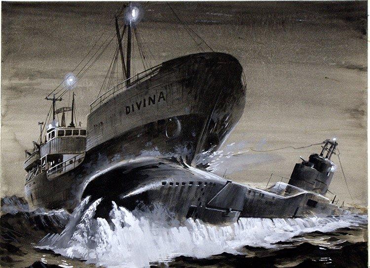 Как шведский танкер разобрался с английской подлодкой