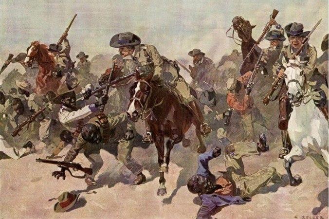 Готтентоты против немцев гереро, потом, часть, восстание, немцы, племен, Витбоой, против, земли, колонистов, около, октября, после, Намибии, перебили, большая, этого, группы, небольшие, разделились
