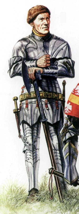 Познавательная история рыцаря времен войны Алой и Белой Розы
