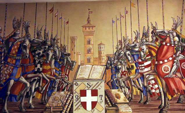 Бытовая резня на мосту, приведшая к многовековой войне