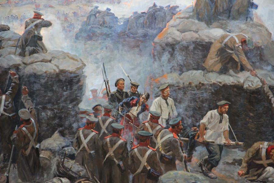Герой Севастополя Петр Кошка