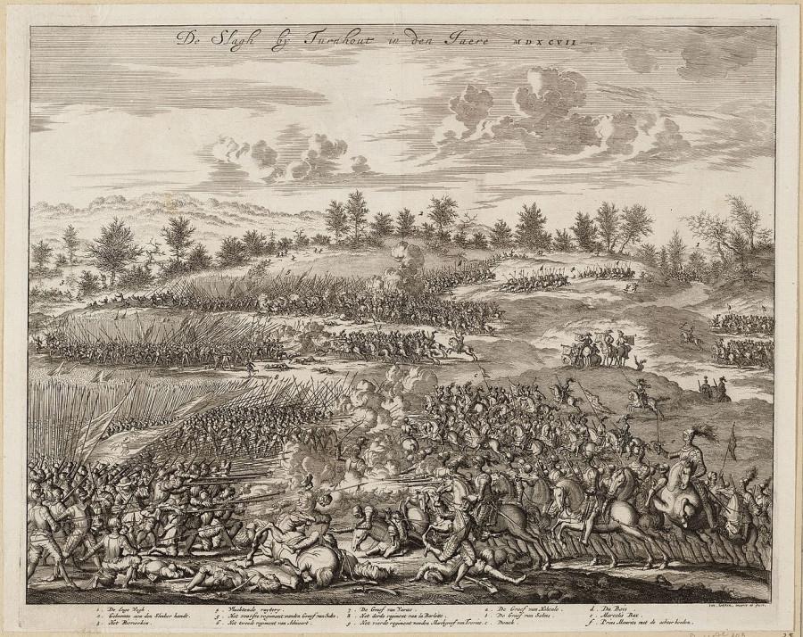 Как голландцы победили испанцев на болотах Тюрнхаута