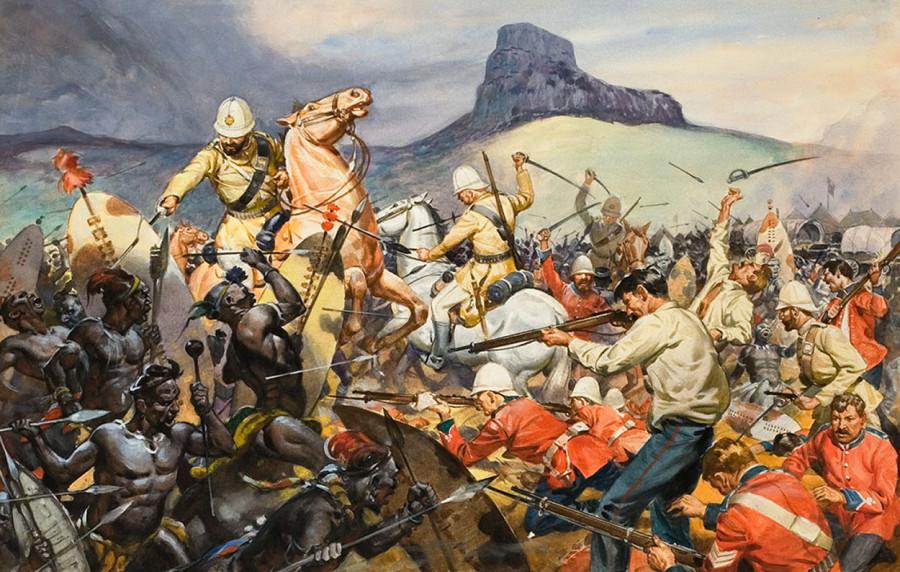 Самое жестокое поражение англичан от африканских туземцев