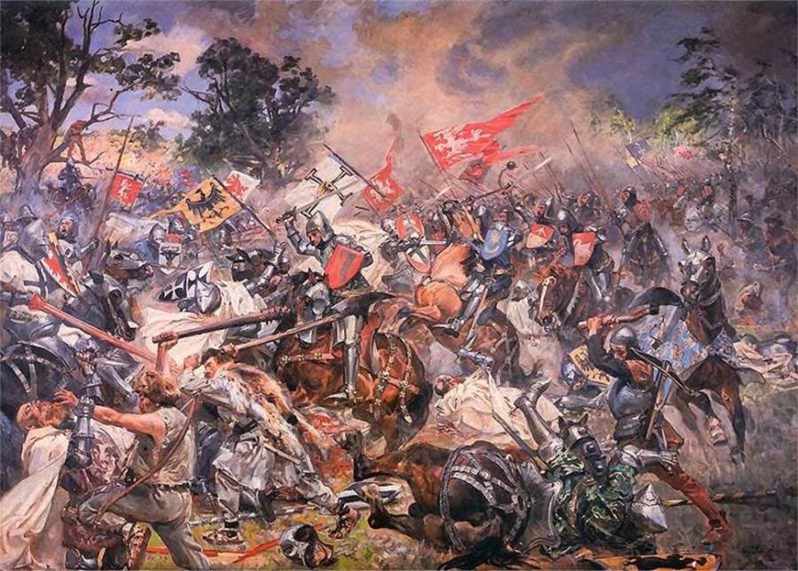 Большая удача Тевтонского ордена