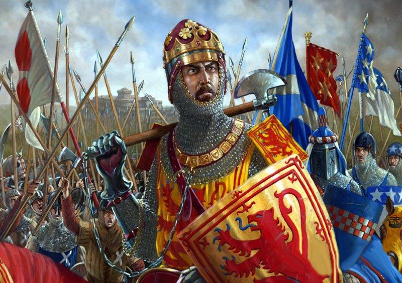 Пришел король шотландский…