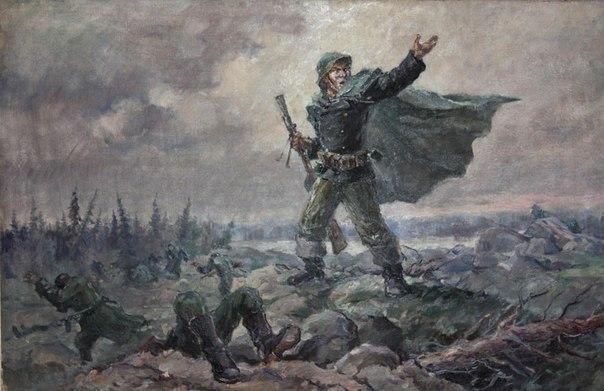 Один морпех против ста немецких егерей