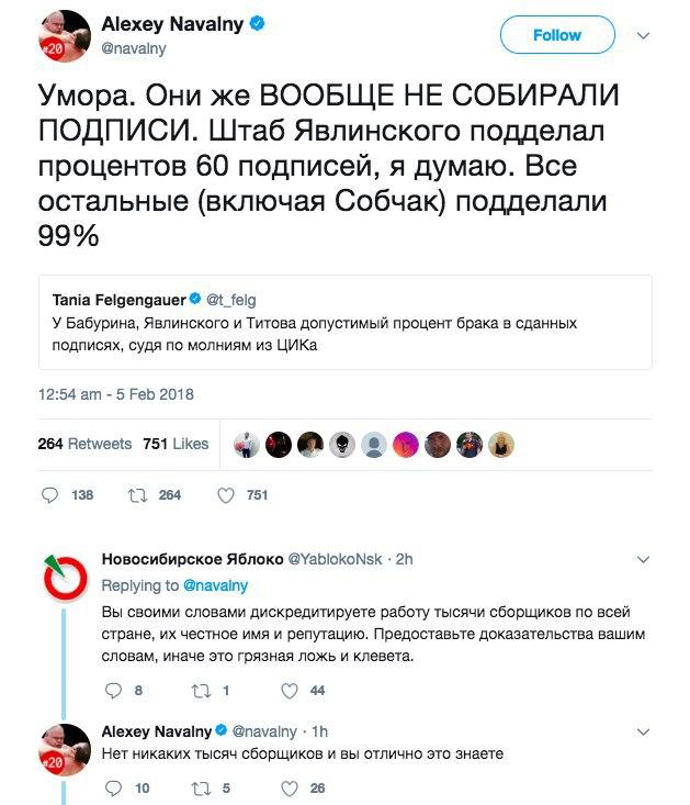 Проект «Навальный как политик» закрывается?