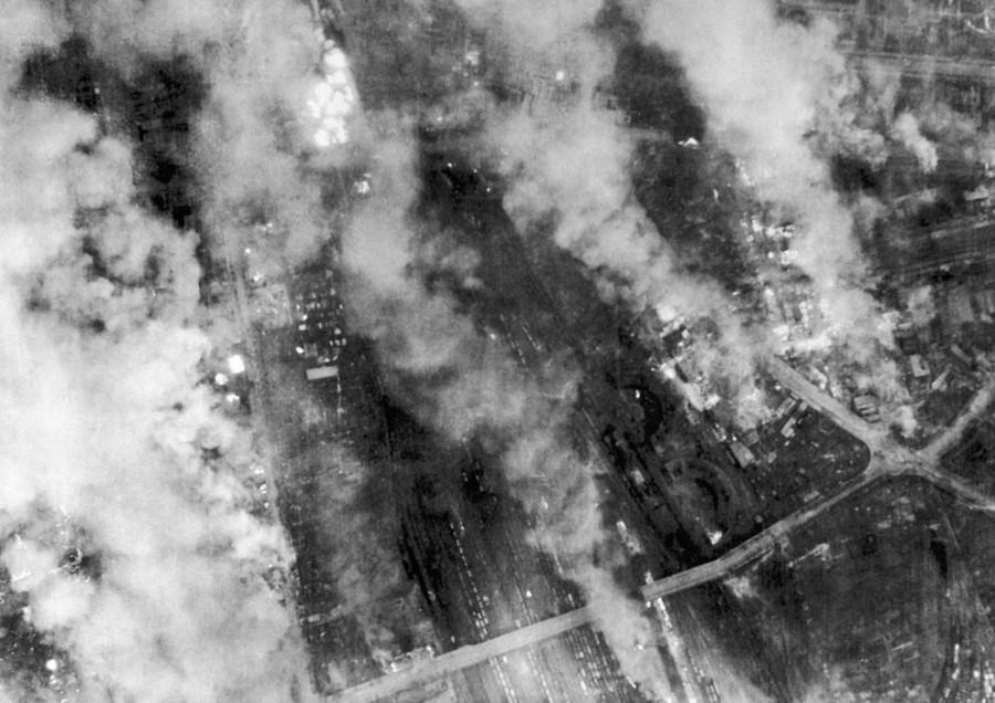 Разгром союзниками Дрездена