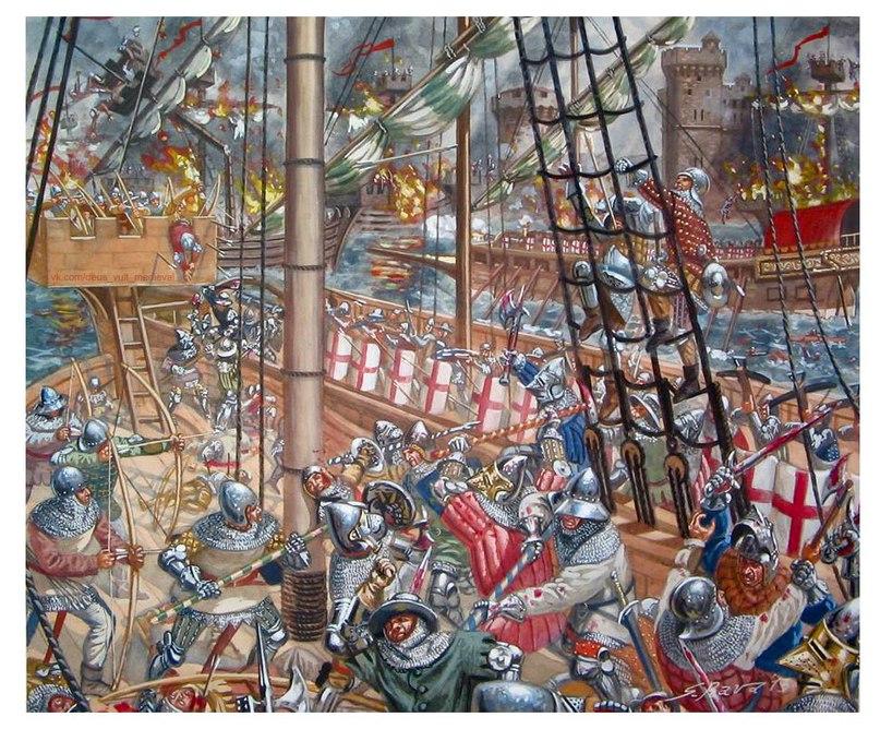 Как Венеция с Генуей разбиралась, чье Черное море. Босфорское сражение 13 февраля 1352 года