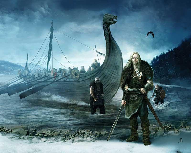 Конунг викингов и его способ решения всех проблем
