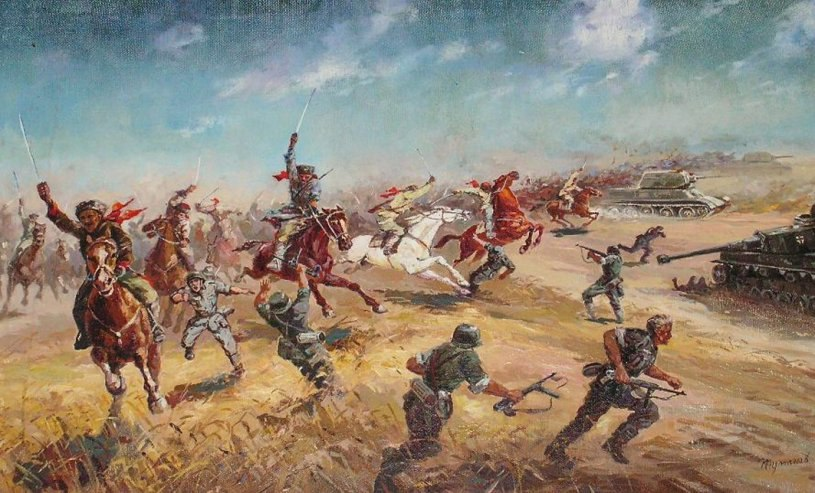 Последняя конная казачья атака. Бой за Кущевскую в 42-м