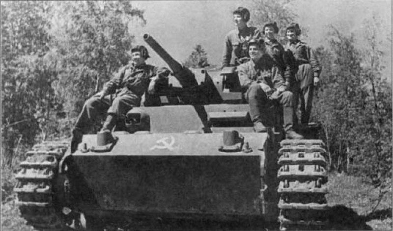 Как наши танкисты раздобыли трофейные танки, чтобы было на чем воевать
