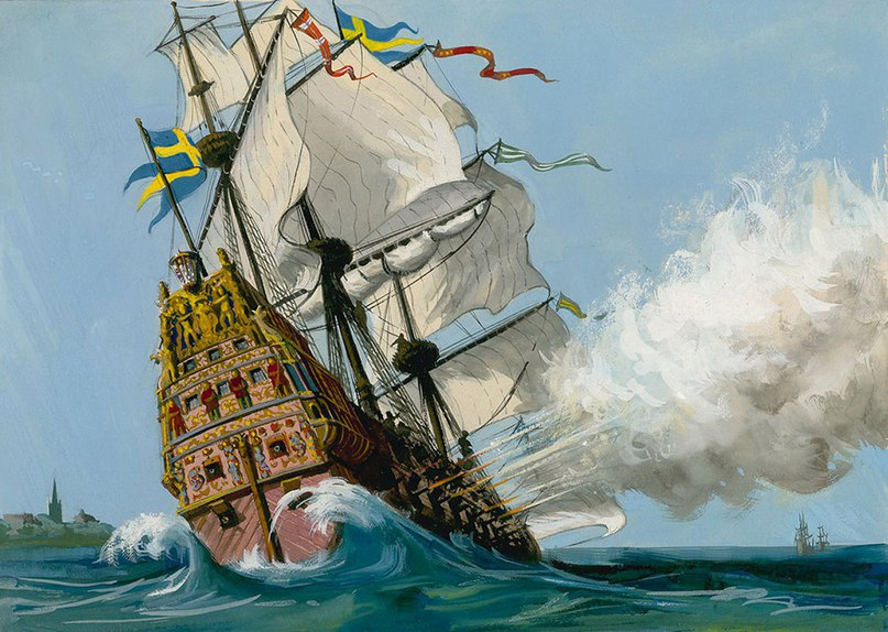 Как король накосячил с флагманским кораблем