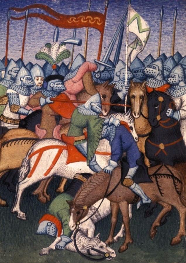 Когда не надо было атаковать рыцарской кавалерией