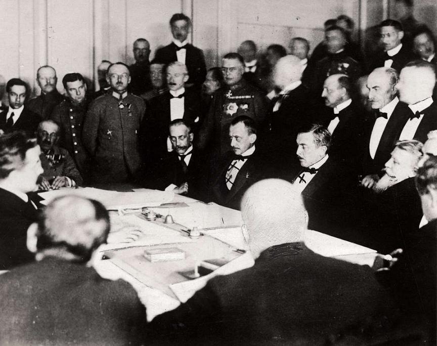100 лет со дня самого мрачного момента в истории российской дипломатии