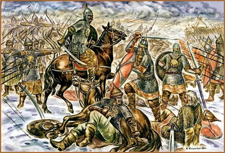 «И встретились оба войска, и была битва жестокой». Последнее сражение Золотой Руси