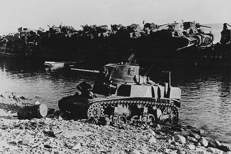 Пропавший танковый батальон