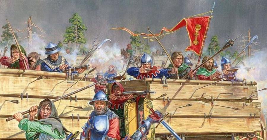 Начало гуситских войн и финал бренда «Крестовые походы»
