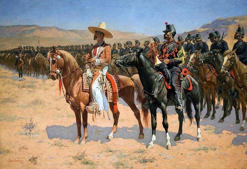 65 французов-легионеров против 2000 мексиканцев
