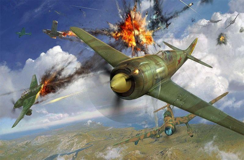 9 сбитых «Юнкерсов» в одном бою