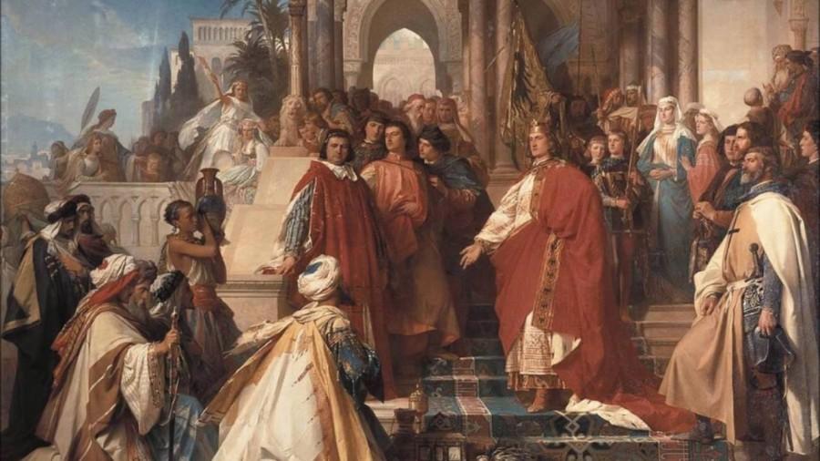 Как император Фридрих освободил Иерусалим без войны и был обвинен в этом римским папой