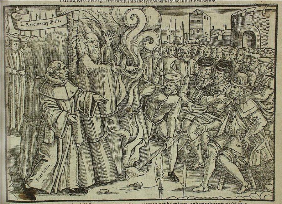 Зажигательный английский денек, в который подпалили архиепископа Кентерберийского