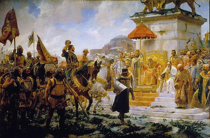 Как каталонская банда в Византии удачи искала
