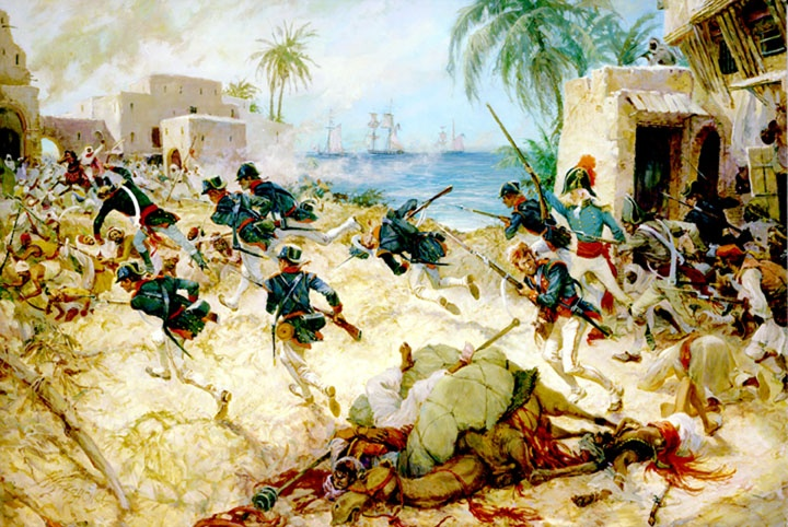 Как американцы гонялись по пустыне за средиземноморскими пиратами