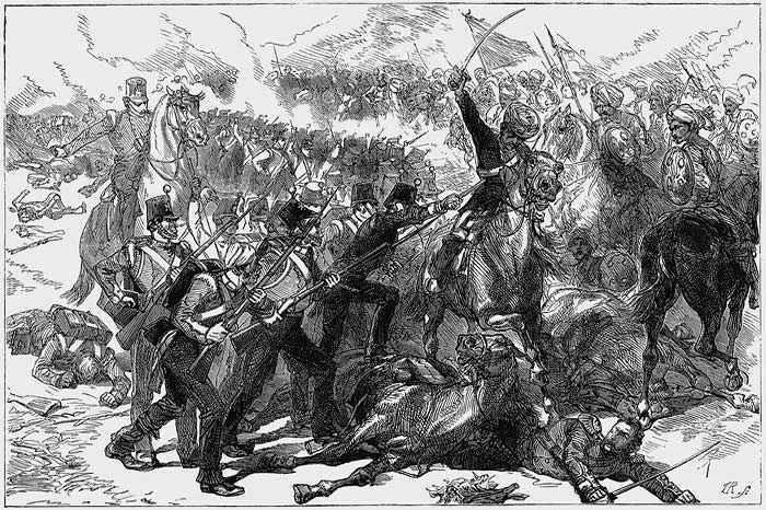 Как русские отбили Кушку у афганцев и англичан