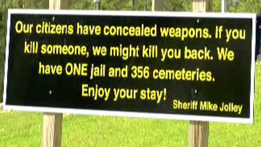 Гостеприимный шериф штата Джорждия
