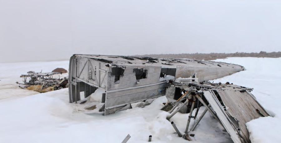 Последний бомбардировщик ТБ-3 в мире гниет на Крайнем Севере
