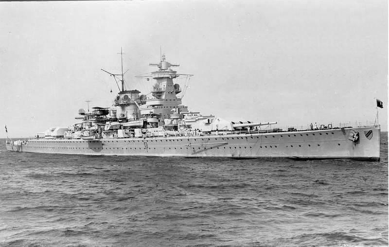 Бесславный конец «Адмирала Шеера»