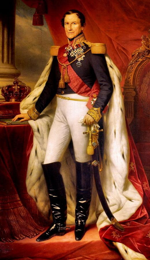Российский генерал, ставший королем