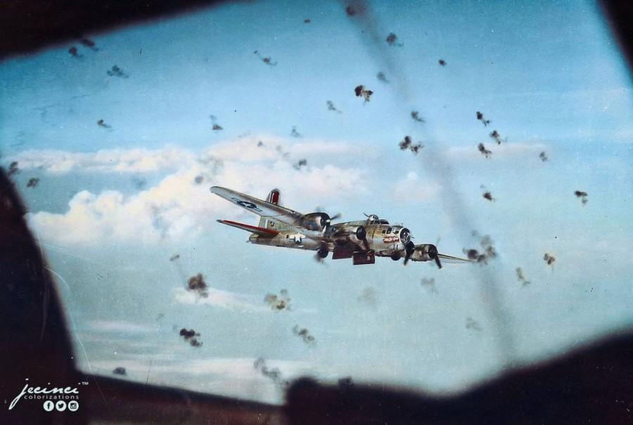Каково это – лететь в бомбардировщике на боевом курсе