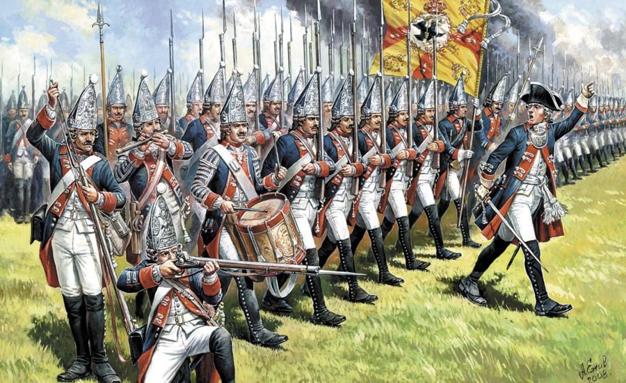 Когда Фридрих II еще не стал великим и не умел воевать
