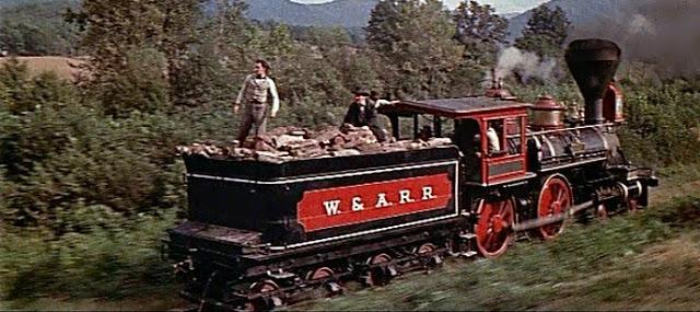 Настоящая паровозная гонка паровоз, Эндрюс, попытались, захватить, поезд, железной, машиниста, Эндрюса, мосты, чтобы, военных, паровоза, поезда, потом, станции, машинистом, между, северян, северяне, который