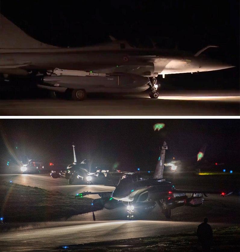 Пока мы спали, наши «партнеры» устроили показательную бомбежку Сирии