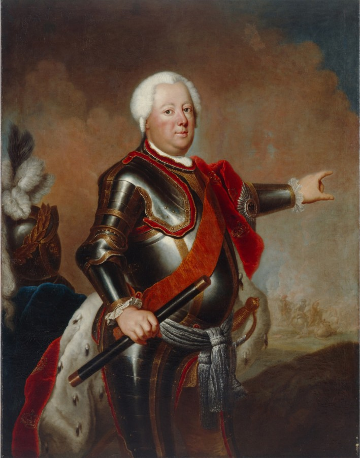 Как пруссаки прятались от своего короля