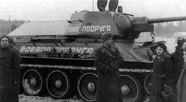"History of tanks ""Fighting friend"""