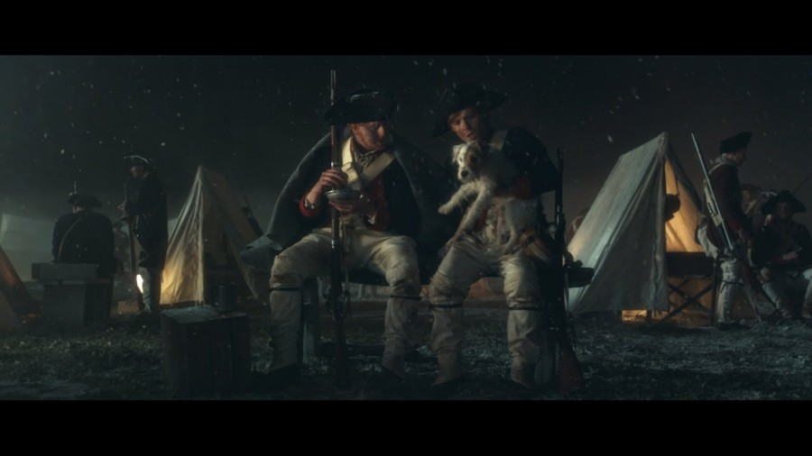Как Вашингтон прекратил битву, чтобы вернуть английскому генералу сбежавшую собаку
