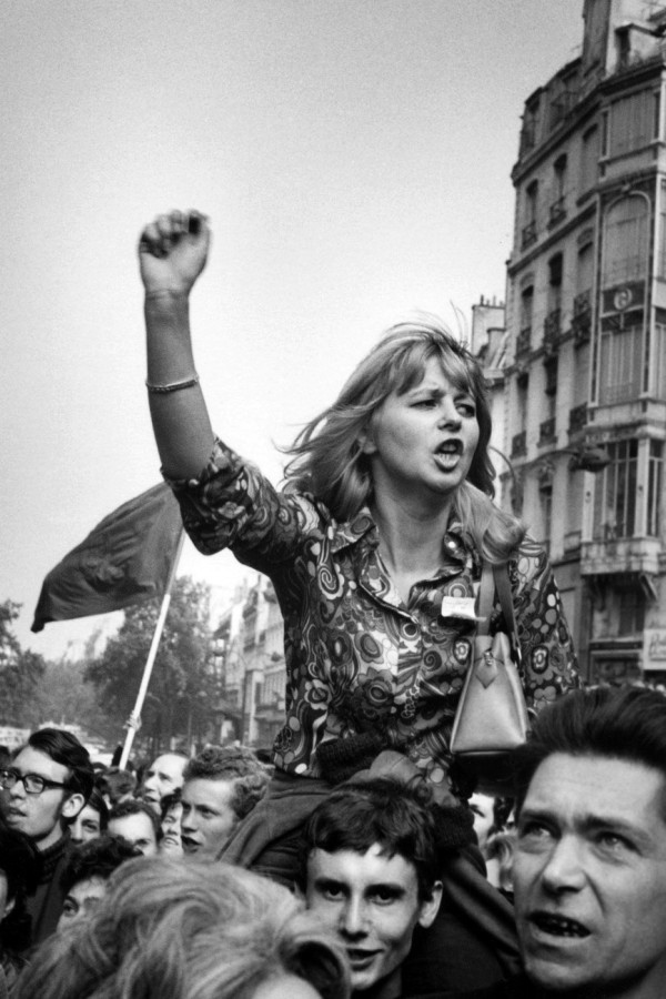 Знаменитые фотографии прошлого века. «Красный май» во Франции.