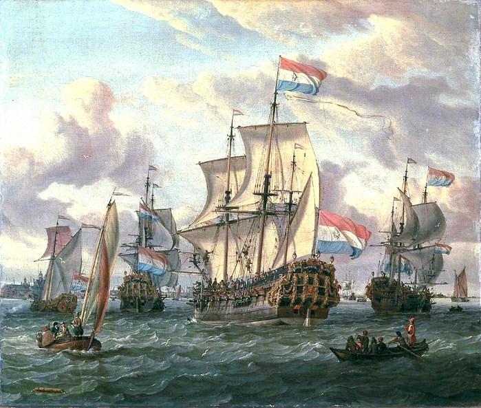 Эпичное морское сражение, от которого пострадал большой котел с супом