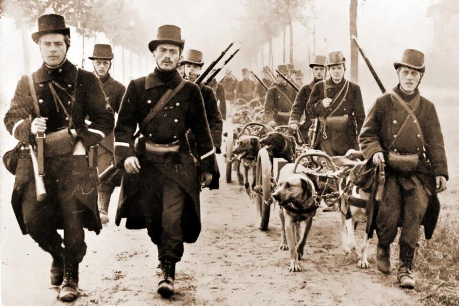 Наивные солдаты начала Первой Мировой
