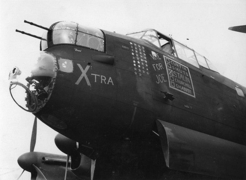 Как английские летчики призывали голосовать за Сталина