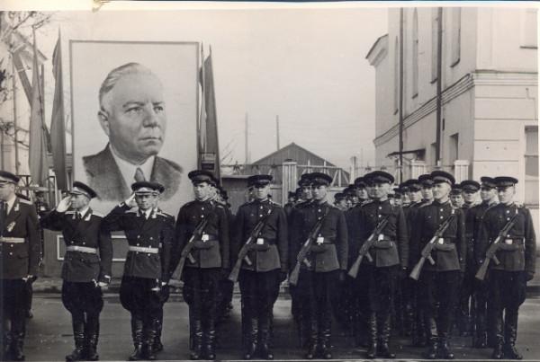 1957 год Петрозаводское военное училище