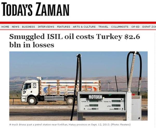 Высокие налоги на горючее делают очень выгодной контрабанду нефти в Турцию