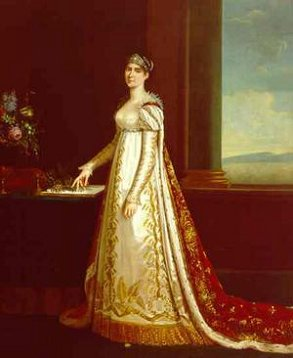 Portrait of Empress Josephine in full European court dress.jpg