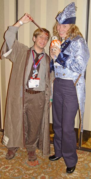 Costumes Gilderoy, Remus, Squidwig