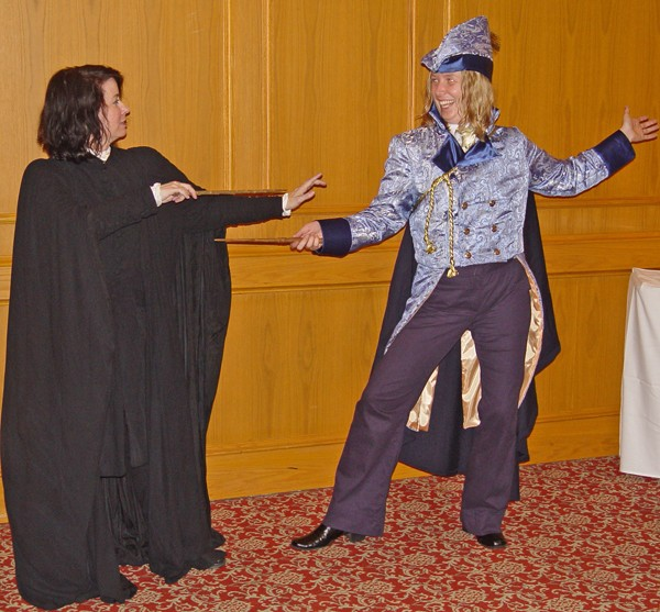 Costumes Snape dueling Gilderoy