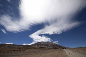 Килиманджаро - день.
